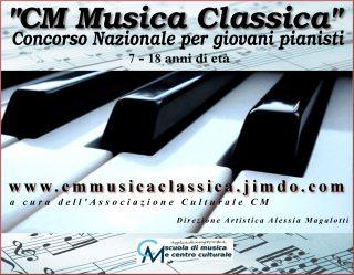CM musica classica 7 edizione – ISCRIZIONI APERTE – 9/10 maggio 2020